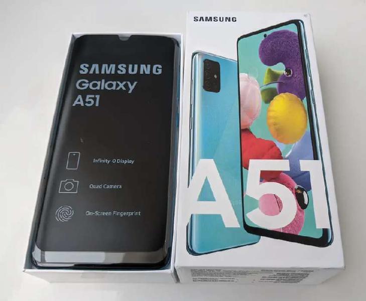 Samsung galaxy a51 128gb 6gb ram azul nuevo