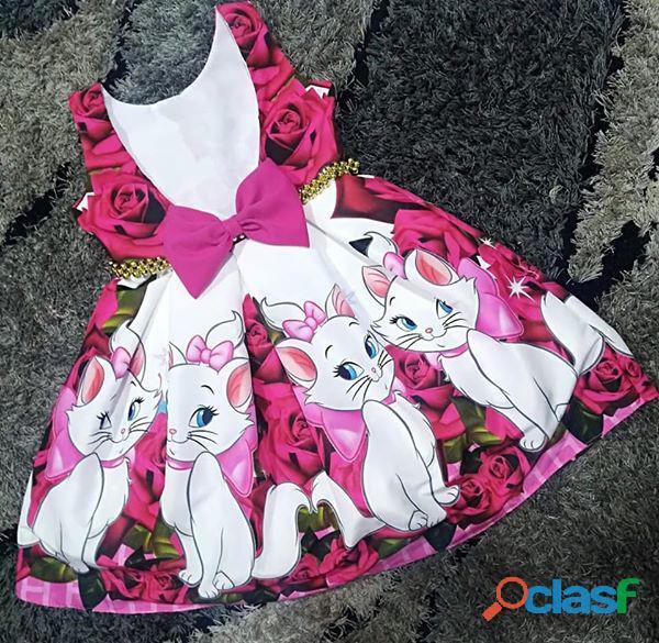 Vestido de fiesta gata marie para niñas