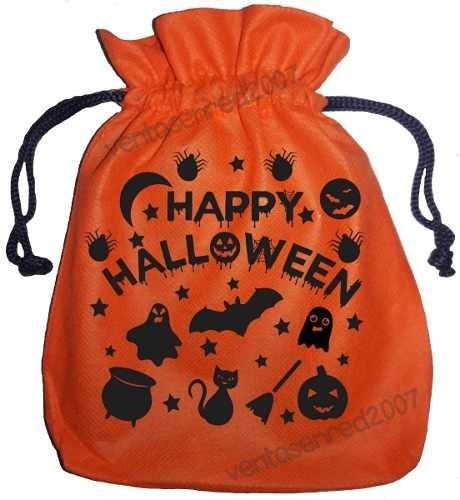 Bolsa ecológica halloween dia niños 20x18 cms marca gratis