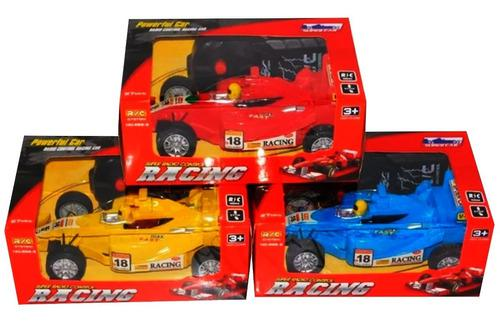 Formula uno control remoto carro f1 niño regalo juguete