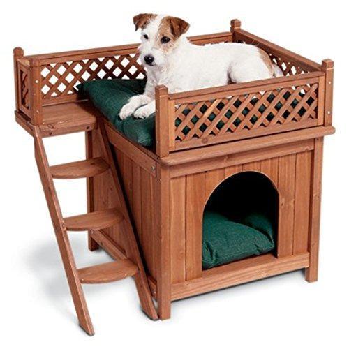 Habitación de madera para mascotas merry pet mps002