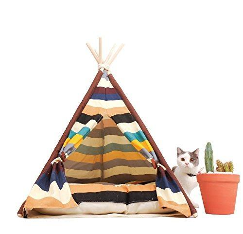 Little dove pet teepee dog(puppy) y cat bed portable pet