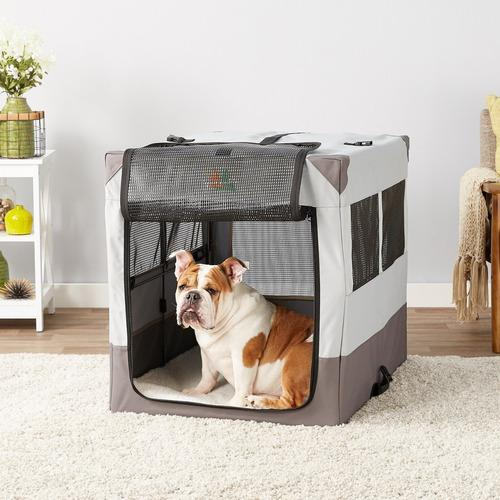 Midwest canine camper sportable tent dog crate