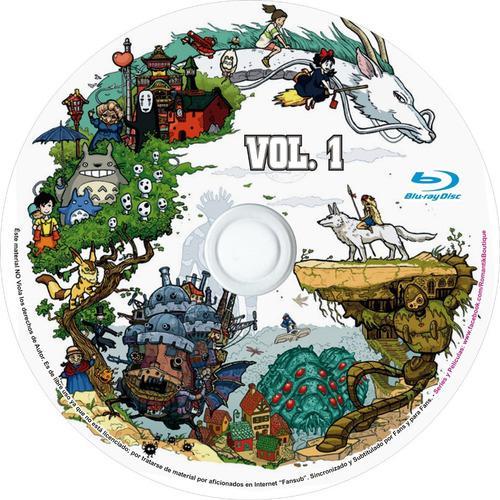 Blu ray estudio ghibli colección películas hayao miyazaki