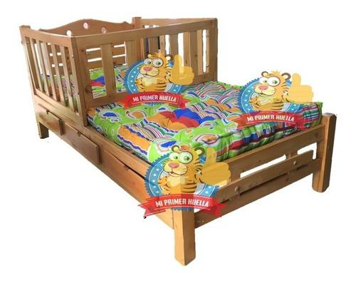 Cama cuna en madera de pino cama corral sin colchon