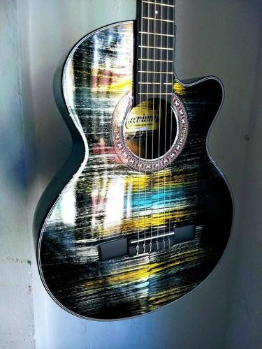 Guitarra acústica combo