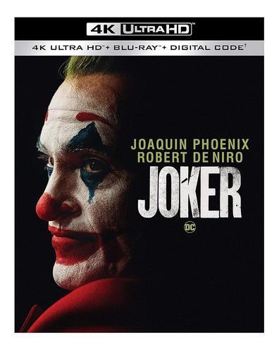 Joker 4k ultra hd + blu-ray original guasón dc envío