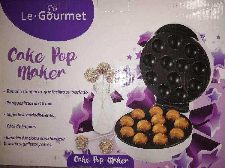 A la venta maquina de hacer mini tortas cake pop maker de le