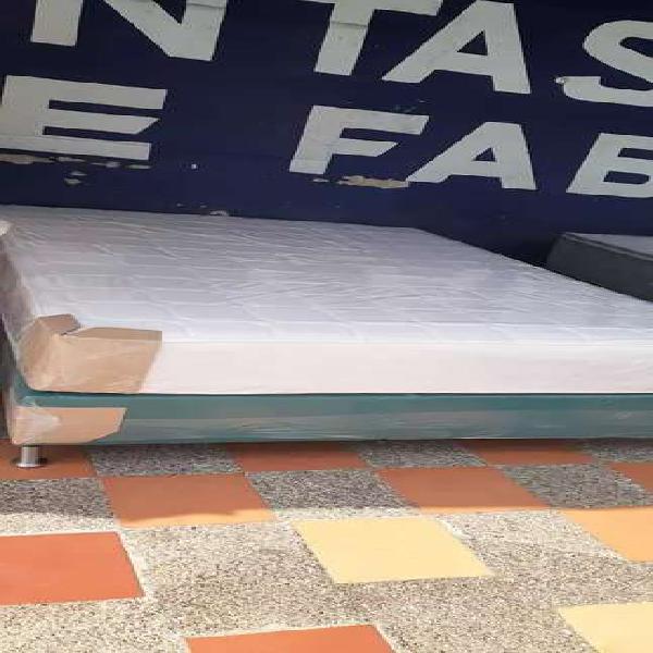 Base cama + colchón envios gratis a medellín