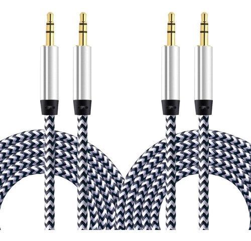 Cable auxiliar, paquete de pies cable de audio de alta...