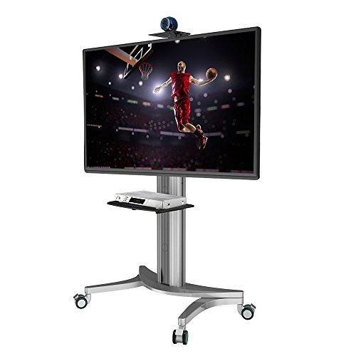 Loctek p2 mobile tv floor cart para lcd led plasma flat pane