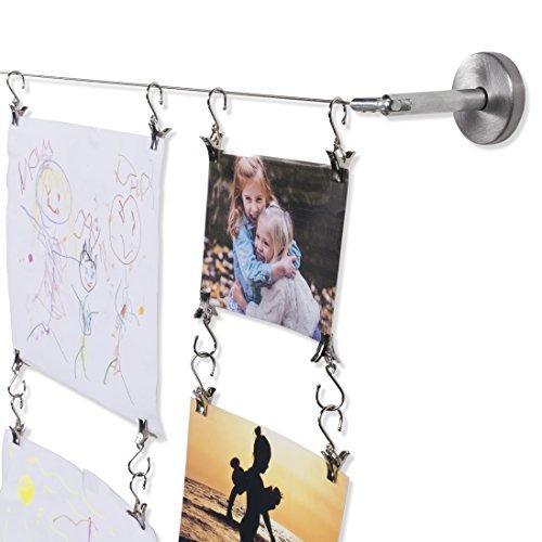 Montaje en pared para niños proyectos de arte exhibición