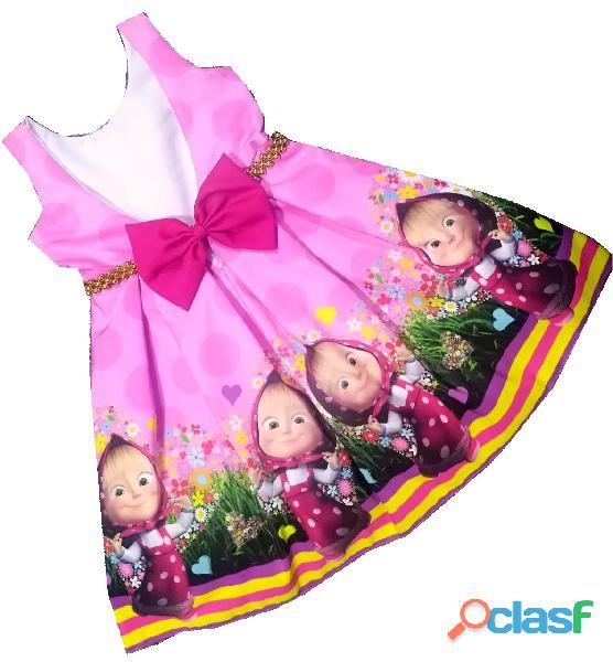 Vestidos de Fiesta para niñas Masha y Oso 1