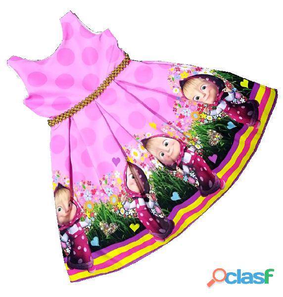 Vestidos de Fiesta para niñas Masha y Oso 2
