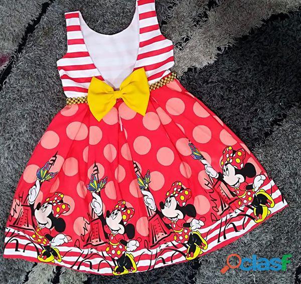 Vestidos de fiesta para niñas minnie mouse