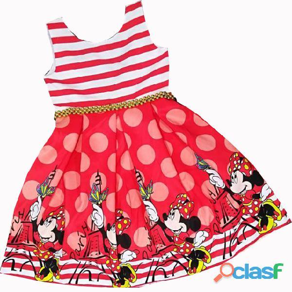 Vestidos de Fiesta para niñas Minnie Mouse 1