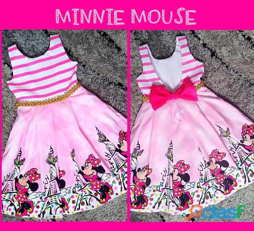 Vestidos de Fiesta para niñas Minnie Mouse 2