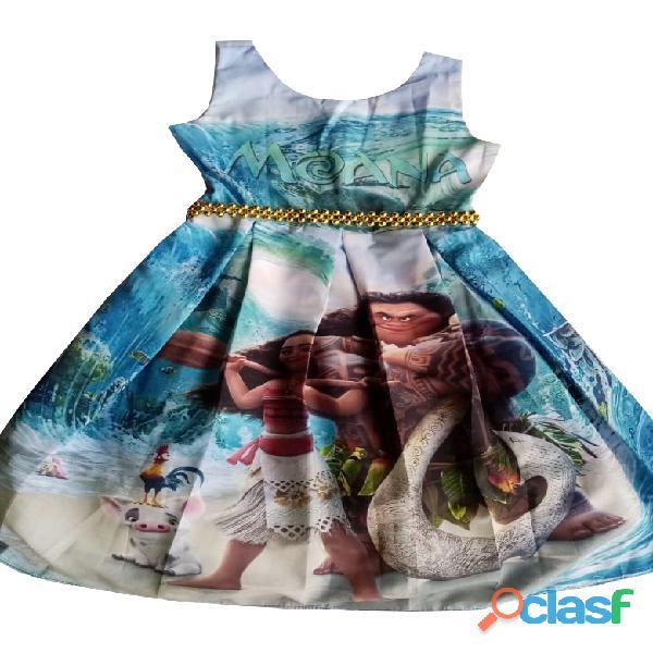 Vestidos de fiesta para niñas moana