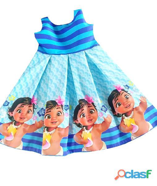 Vestidos de Fiesta para niñas Moana 1