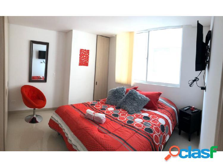 Arrienda apartamento amoblado sector cristo rey