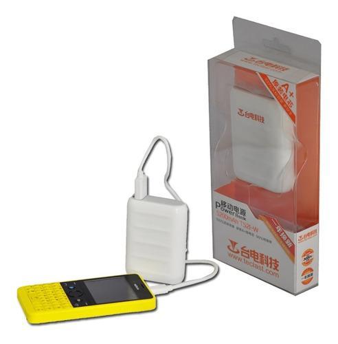 Batería cargador portátil externo power bank 5200 mah