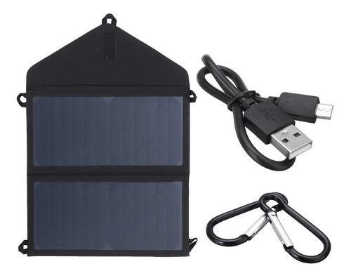 Cargador solar 20w plegable panel portátil 5v 2a usb