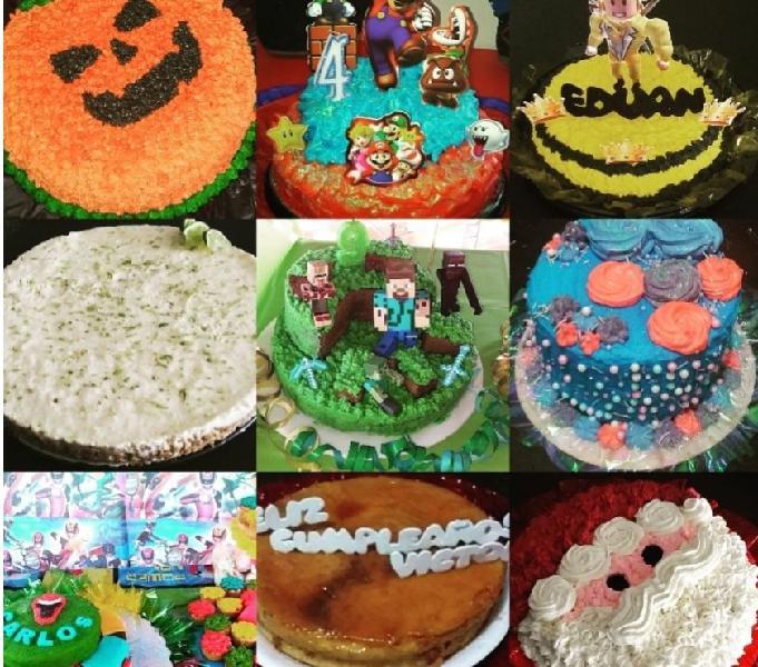 Tortas, quesillos, cupcakes @carolinepostres