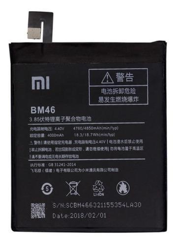 Bateria xiaomi redmi note 3 / hong mi note 3 bm46 / bogota