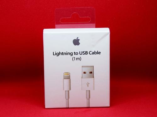 Cable cargador original iphone 5 6 7 8 x lightning 1 metro