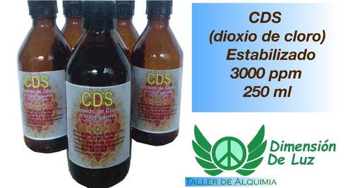 Cds dioxido de cloro estabilizado 3000 p - l a $360