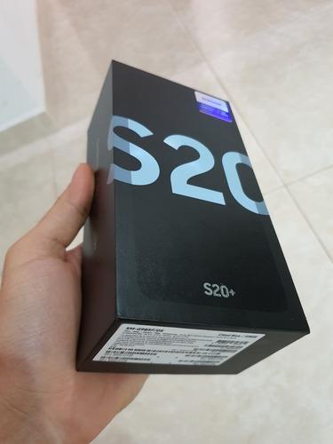Samsung galaxy s20 plus color azul celeste