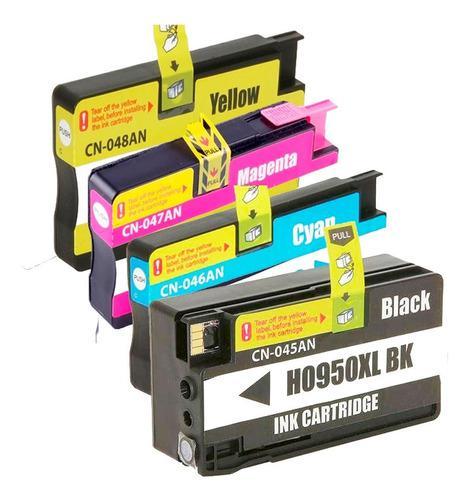 Cartucho de tinta 950xl y 951xl pack 4 colores genererico