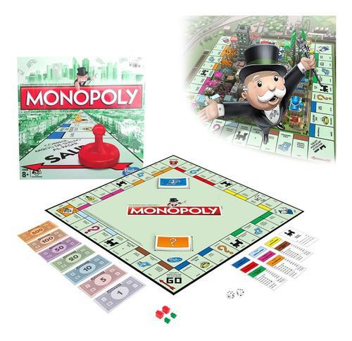 Juego de mesa monopoly en español hasbro