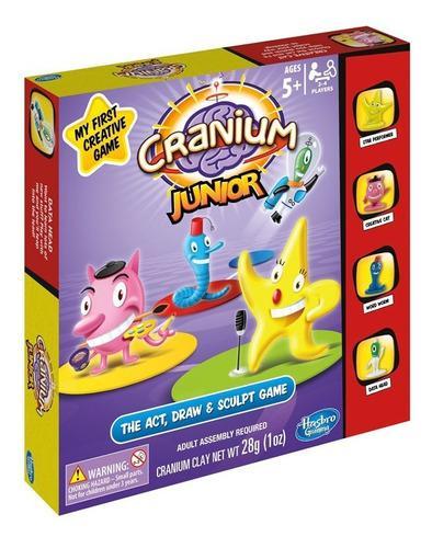 Juegos de mesa cranium junior hasbro gaming toda la familia