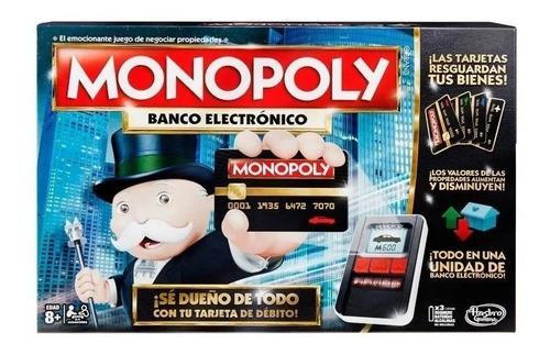 Monopoly banco electrónico juego hasbro original entrega