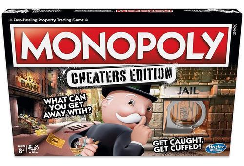 Monopoly para tramposos juego hasbro original entrega inmed.