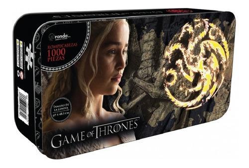 Rompecabezas de game of thrones 1000 piezas daenerys
