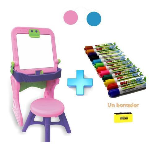 Tablero escritorio comedor niños niñas + caja de