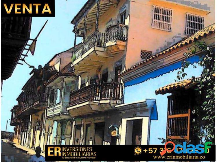 Se vende edificio ciudad amurallada cartagena