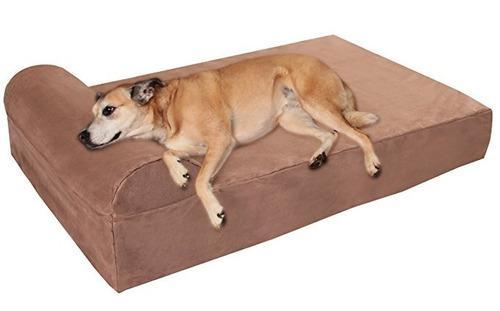 Cama con almohada ortopédica para perros, de 7