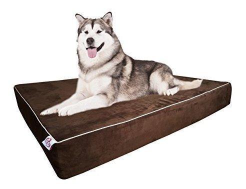 Onepettwopet almohada para cama de perro tamaño grande espu