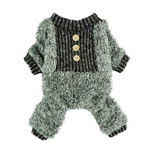 Ropa para perro fitwarm pijama térmica talla m
