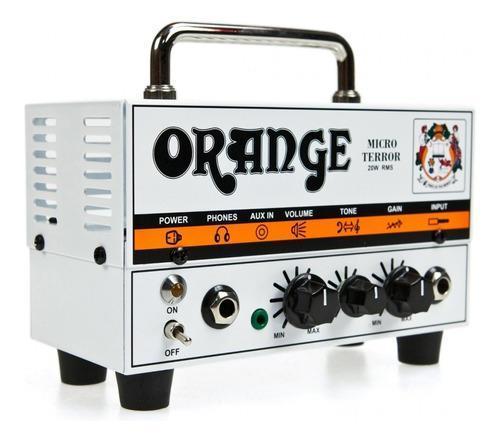 Orange mt20 micro terror mini amplificador guitarra head