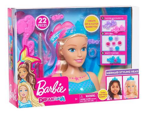 Barbie dreamtopia sirena peinados y accesorios mágicos