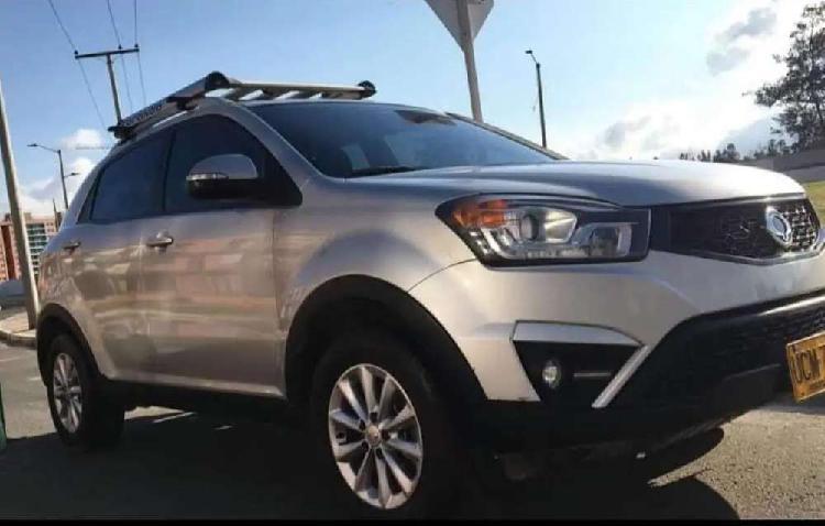 Camioneta 4x4 awd ssangyong korando - como nueva en perfecto