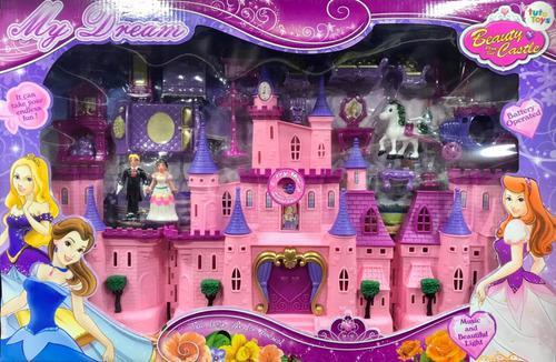 Castillo princesas beauty luces sonido niñas con