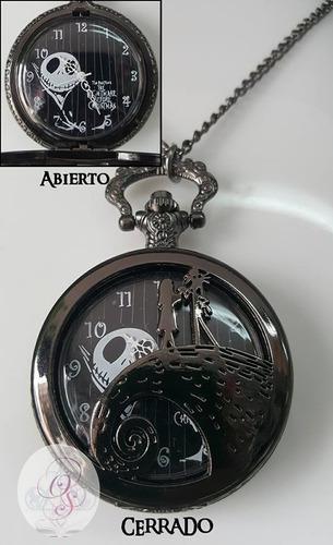 Collar reloj el extraño mundo de jack