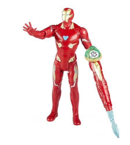 Muñeco avengers infinity war figura iron man + accesorios