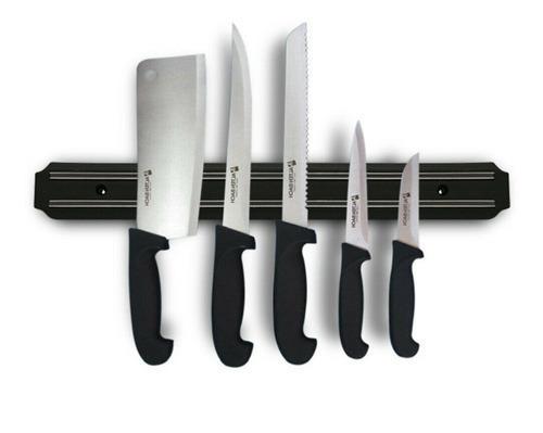 Soporte para cuchillos tijeras imán riel magnético base