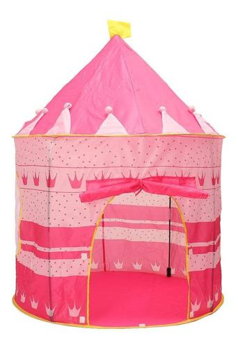 Carpa castillo infantil para niñas princesas y muñecas